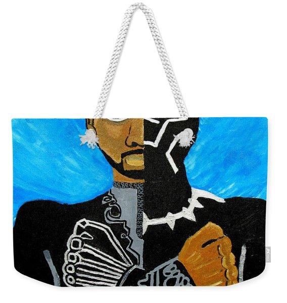Wakanda Forever Weekender Tote Bag
