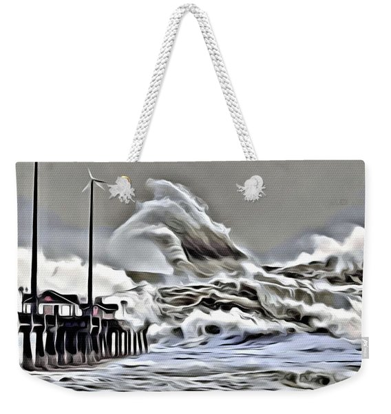 Wake Of Nature Weekender Tote Bag