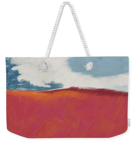 Walk In The Field- Art By Linda Woods Weekender Tote Bag