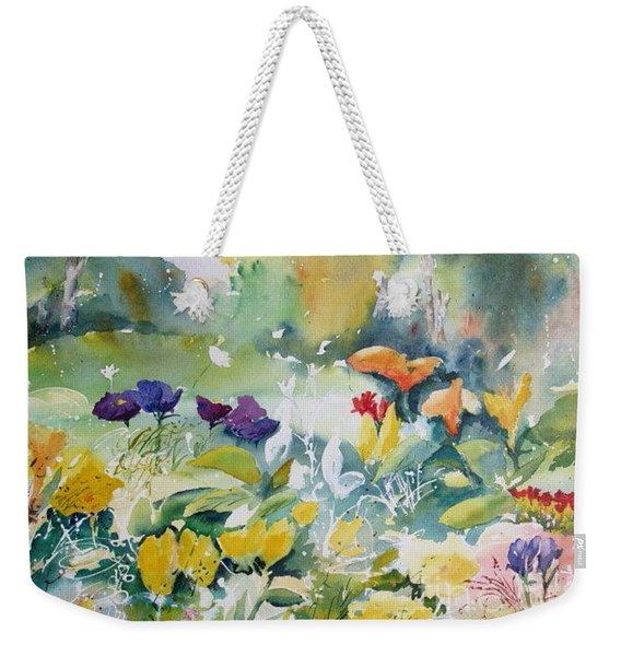 Walk In The Park Weekender Tote Bag