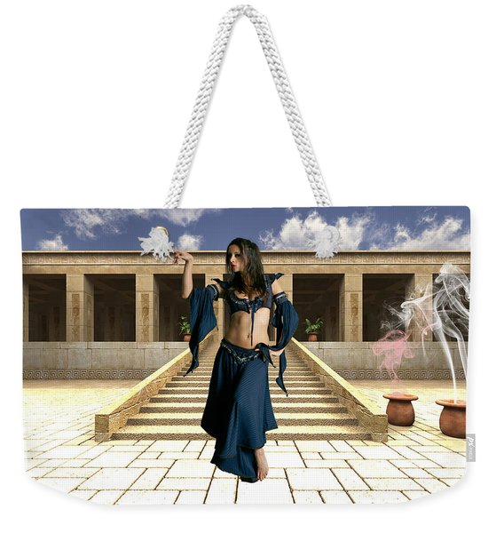 Walk Like An Egyptian Weekender Tote Bag