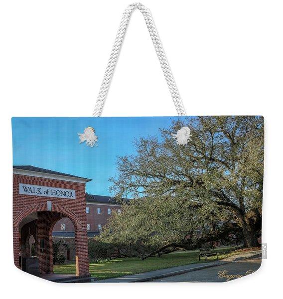 Walk Of Honor Entrance Weekender Tote Bag