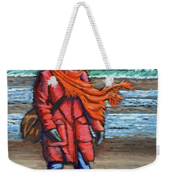 Walk On Beach Weekender Tote Bag