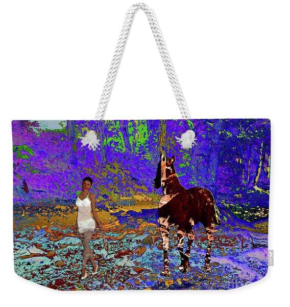 Walk The Enchanted Forest Weekender Tote Bag