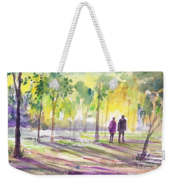Walk Through The Woods Weekender Tote Bag