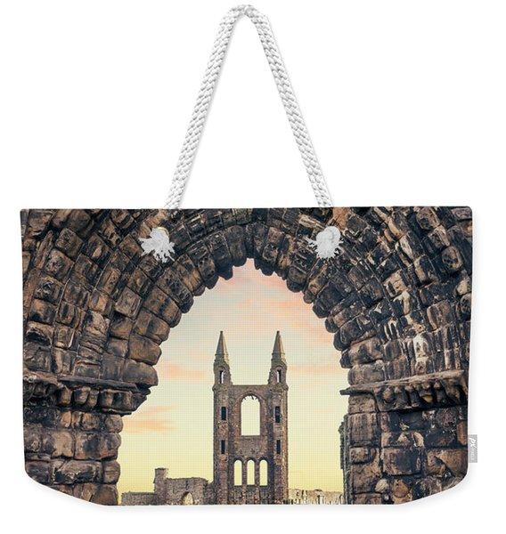 Walk Through Time Weekender Tote Bag