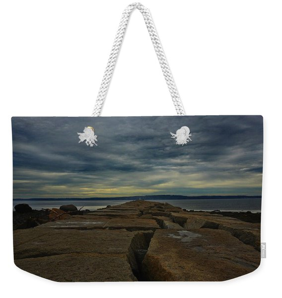 Walk To The Sea Weekender Tote Bag