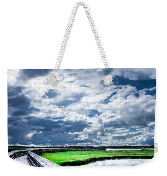 Walk With Me In The Sky Weekender Tote Bag
