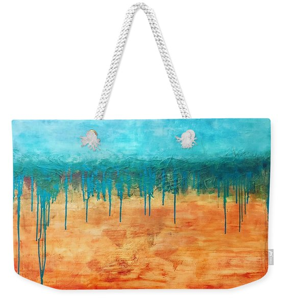 Walk With Me  Weekender Tote Bag