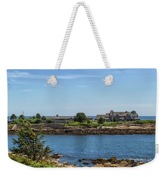 Walkers Point Kennebunkport Maine Weekender Tote Bag