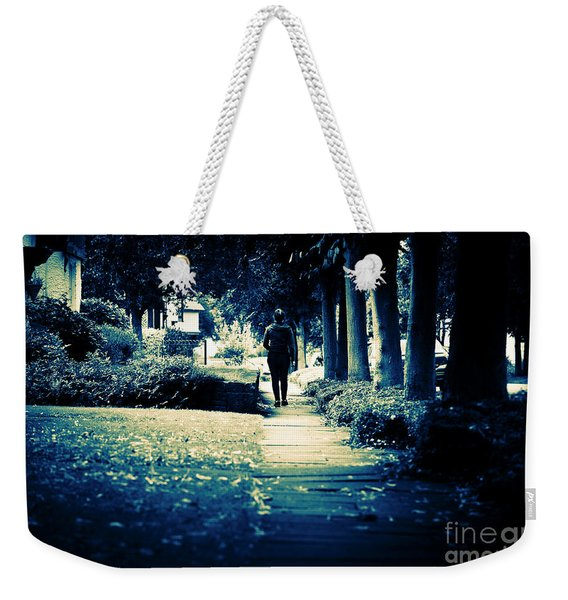 Walking A Lonely Path Weekender Tote Bag