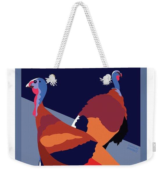 Walking Away From You Weekender Tote Bag