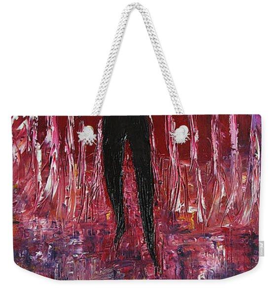 Walking Away Weekender Tote Bag