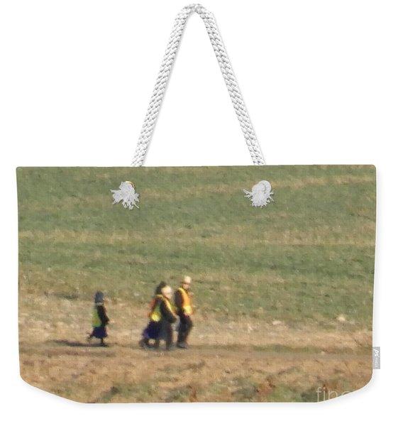 Walking Home Weekender Tote Bag