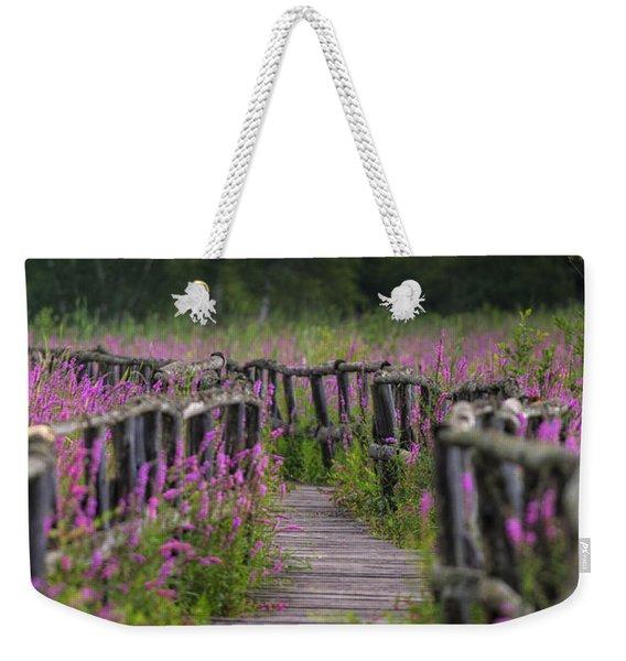 Walking In Magic... Weekender Tote Bag