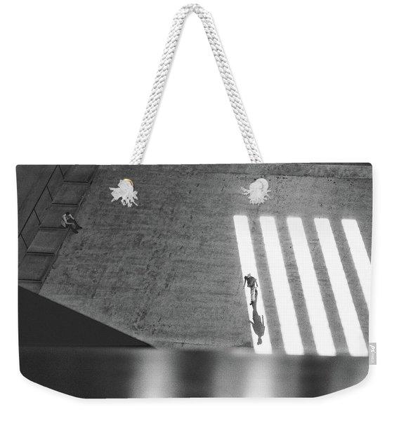 Walking In The Light Weekender Tote Bag