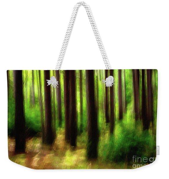 Walking In The Woods Weekender Tote Bag