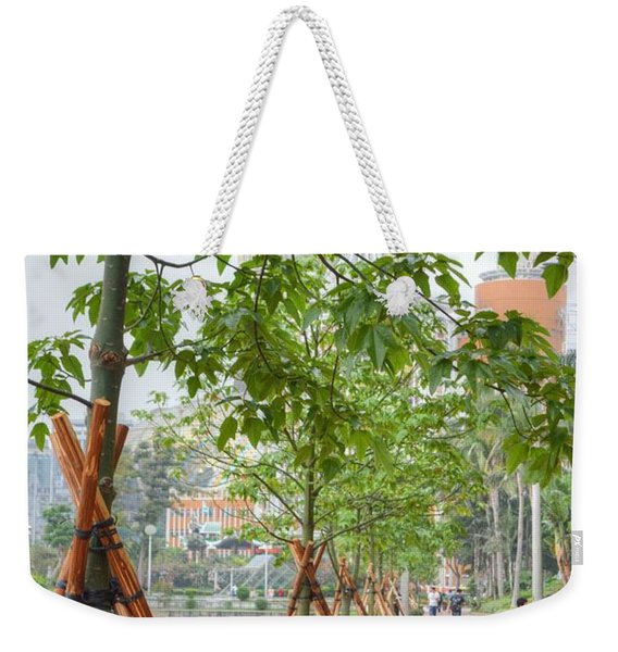 Walking Macau China Weekender Tote Bag