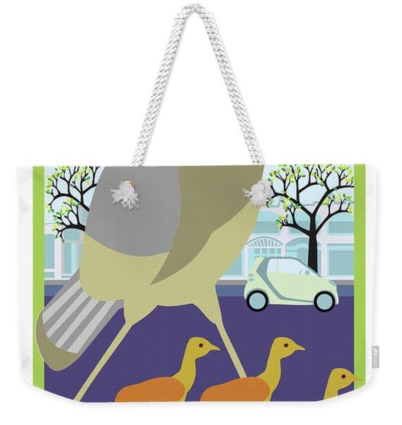 Walking Tours Weekender Tote Bag