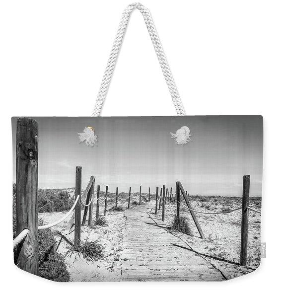 Walkway In The Dunes. Weekender Tote Bag