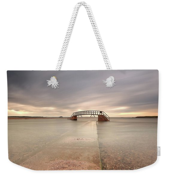Walkway To The Stairs Weekender Tote Bag