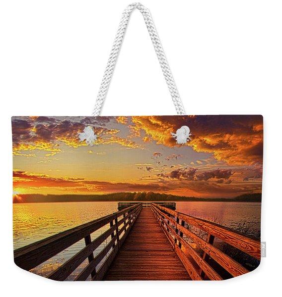 Walkyn Skywyrd Weekender Tote Bag
