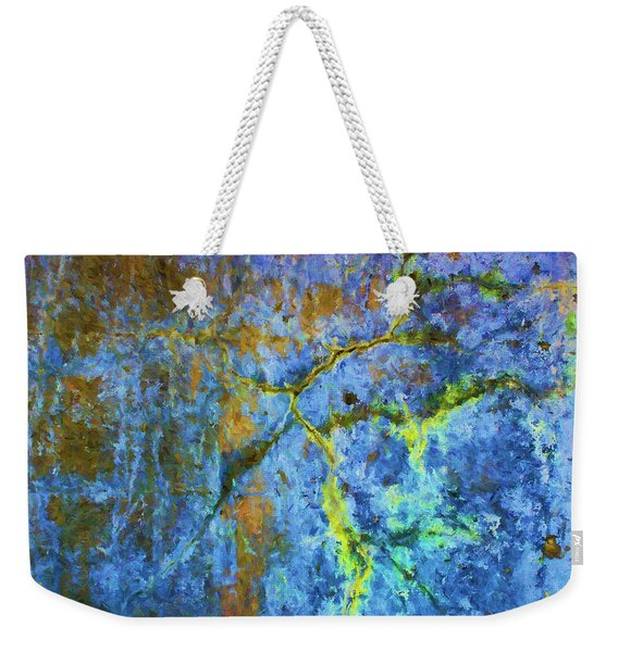Wall Abstraction I Weekender Tote Bag