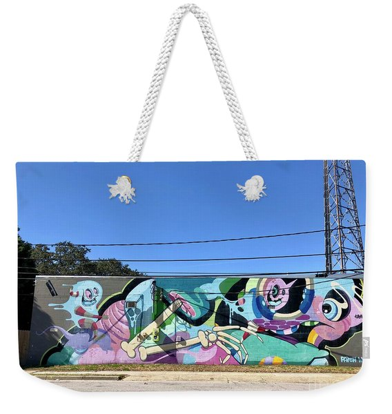 Wall Art Weekender Tote Bag