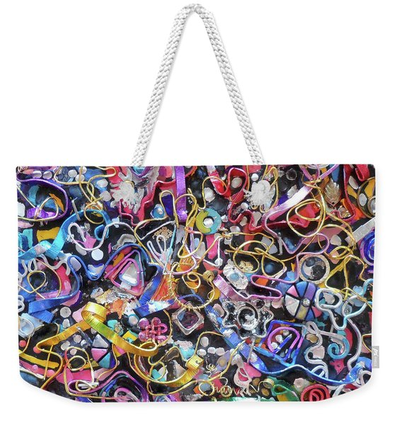 Wall Jewelry 3r Weekender Tote Bag