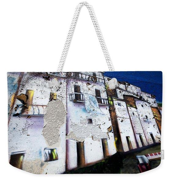 Wall Mural Weekender Tote Bag