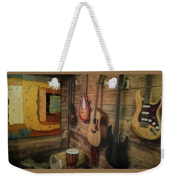 Wall Of Art And Sound Weekender Tote Bag