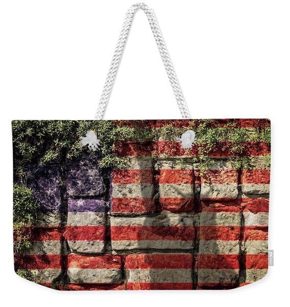 Wall Of Liberty Weekender Tote Bag