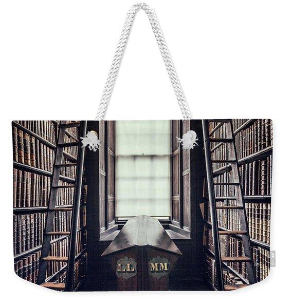 Walls Of Books Weekender Tote Bag