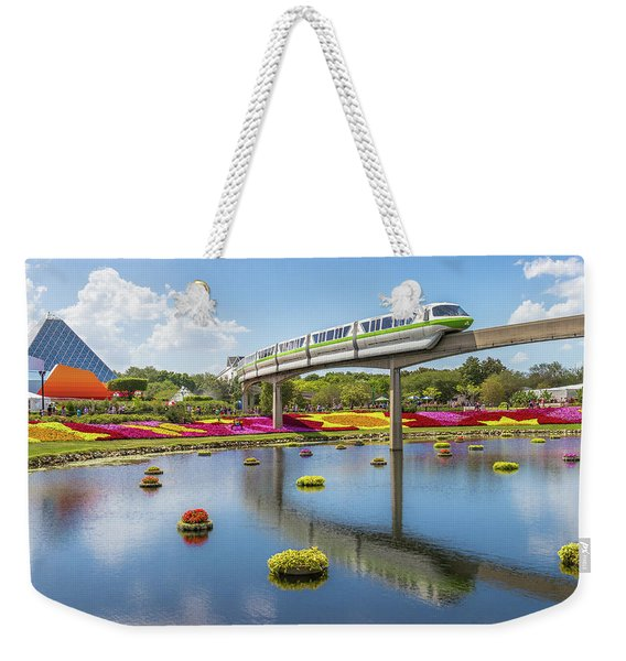 Walt Disney World Epcot Flower Festival Weekender Tote Bag
