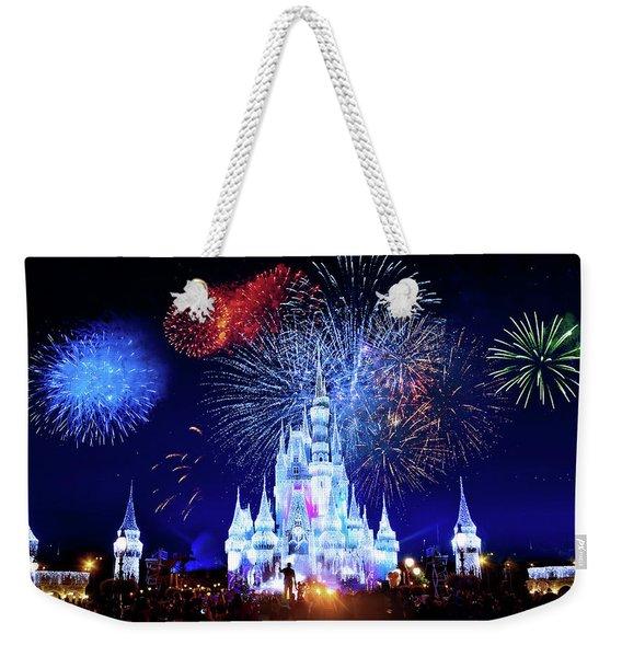 Walt Disney World Fireworks  Weekender Tote Bag