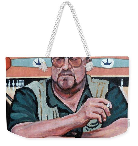 Walter Sobchak Weekender Tote Bag