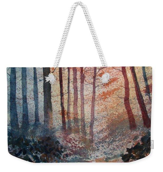 Wander In The Woods Weekender Tote Bag