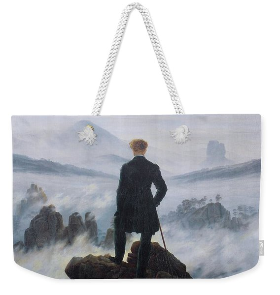 Wanderer Above The Sea Of Fog Weekender Tote Bag