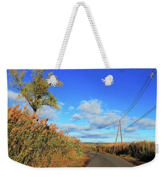 Wanderer's Way Weekender Tote Bag