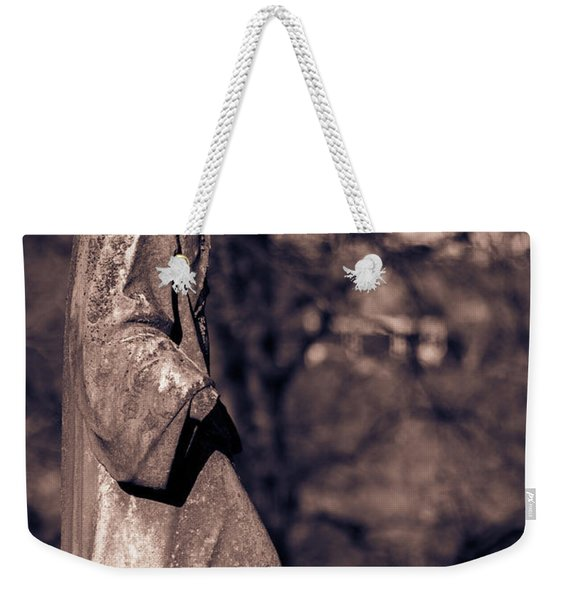 Wandering Lady Of Myrtle Hill Bw Weekender Tote Bag