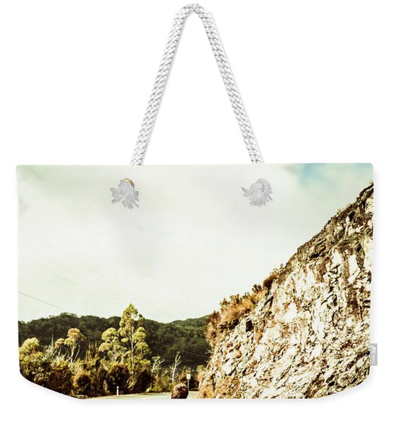 Wanderlust Southwest Tasmania Weekender Tote Bag
