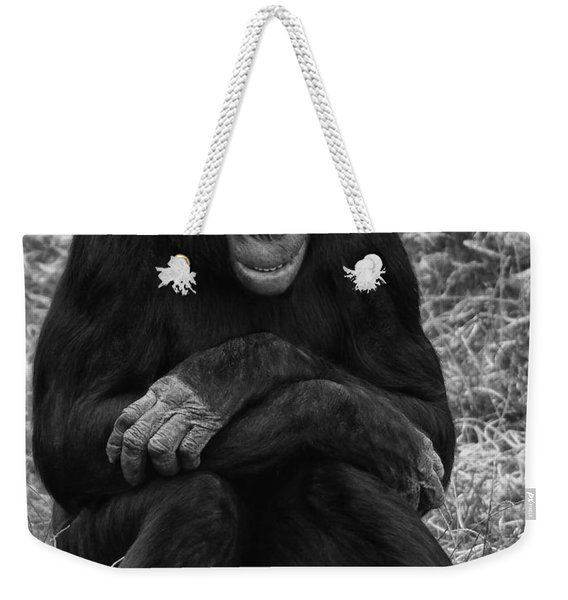 Weekender Tote Bag featuring the photograph Wanna Be Like You by Nick Bywater