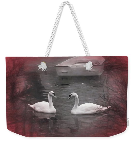 Wanna Go For A Boat Ride ? Weekender Tote Bag