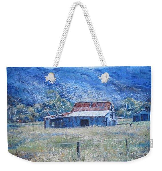 Warby Hut Weekender Tote Bag