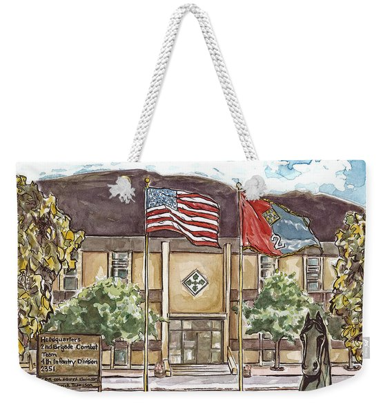 Warhorse Headquarters Weekender Tote Bag