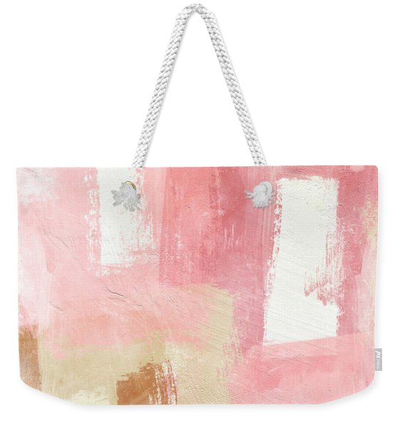 Warm Spring 2- Abstract Art By Linda Woods Weekender Tote Bag