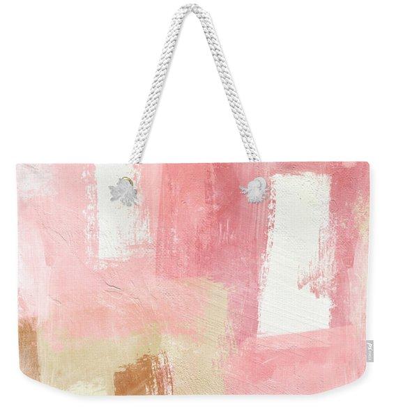 Warm Spring 2- Abstract Art By Linda Woods Weekender Tote Bag