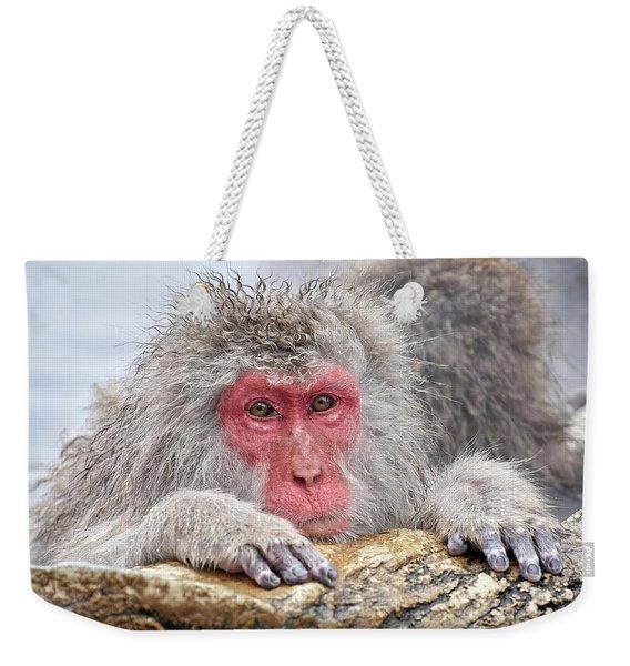 Warming Up Weekender Tote Bag