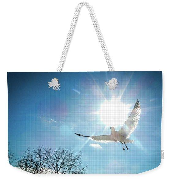 Warmed Wings Weekender Tote Bag