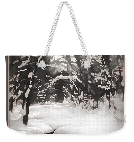 Warmth Of A Winter Day Weekender Tote Bag